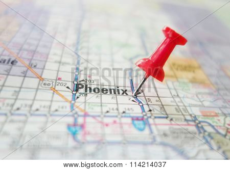 Phoenix Arizona Map