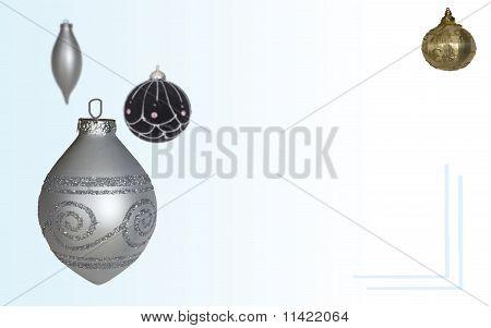 Xmas Decorations Card