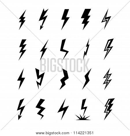 Set Lightning Icon