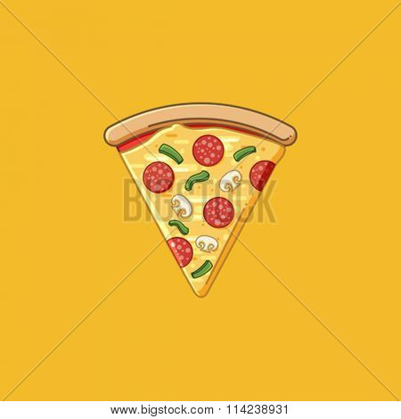Simple Pizza slice