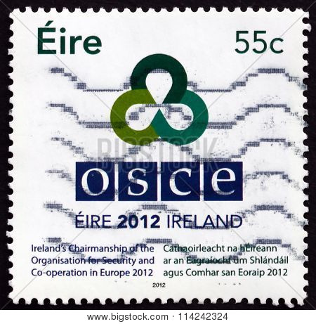 Postage Stamp Ireland 2012 Irish Presidency Of Osce