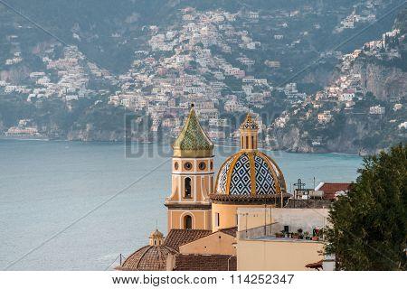 Church Positano in amalfi coast