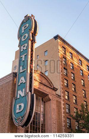 Iconic Portland Sign