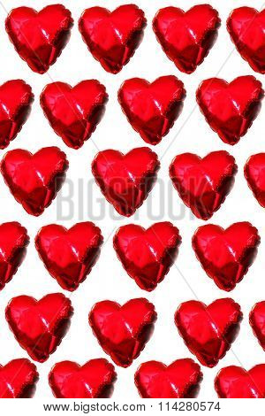 Valentines day Heart Shaped Pattern repeated many times. The perfect image for all your Valentines Day needs. Valentines Day falls on February 14 each year.