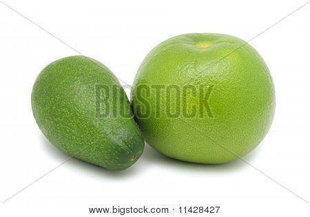 Oroblanco And Avocado