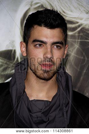 Joe Jonas at the Los Angeles Premiere of