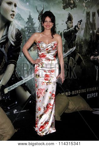 Carla Gugino at the Los Angeles Premiere of