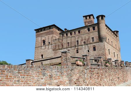 medieval Castle of Grinzane Cavour, Italy