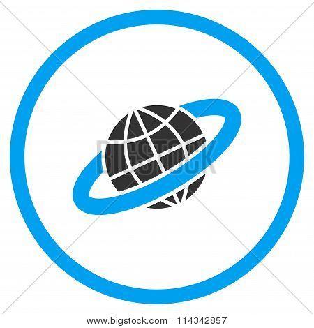 Planetary Ring Icon