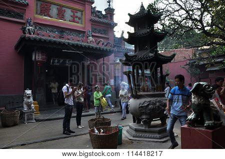 Jade Emperor Pagoda. Saigon, Vietnam