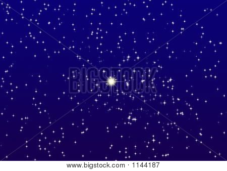 Night Sky_Shine One Star