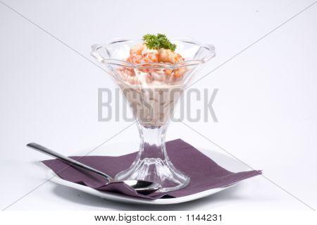 Shrimp Cocktail Served