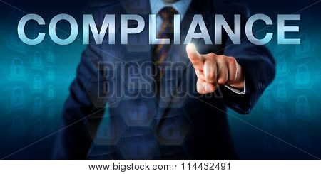 Manager Touching Compliance In Cyberspace