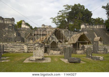 Great Plaza Tikal Guatemala