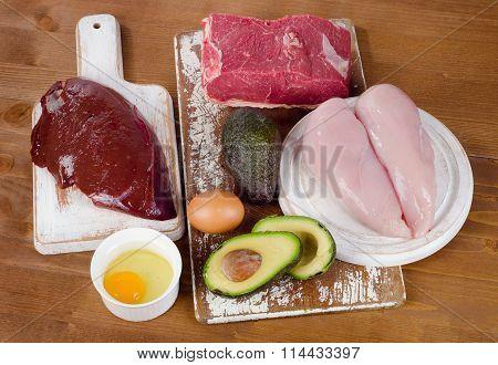 Healthy Foods High In Vitamin B3 (niacin).