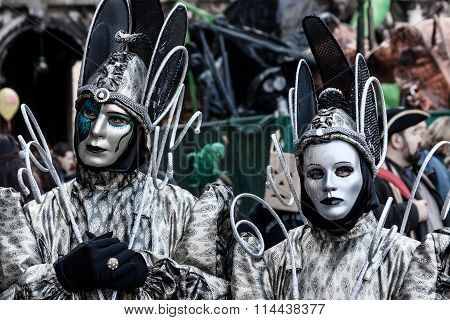 Carnival in Venice, Fantasy Masks