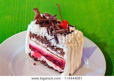 Delicious Cake Slice