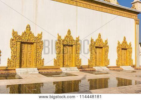 Shwe Yan Pyay Temple , Inle Lake , Shan State , Myanmar