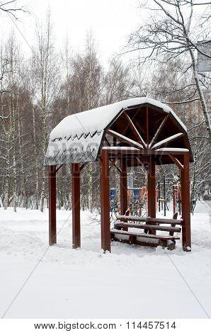 Alcove In Winter