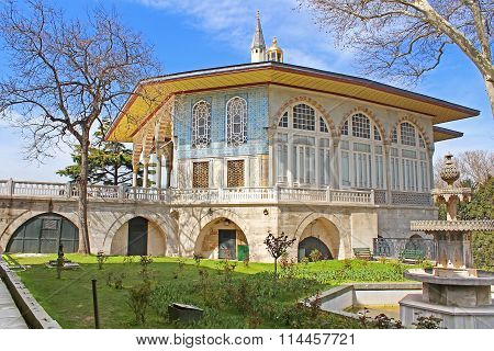 Baghdad Kiosk Situated In The Topkapi Palace In Istanbul, Turkey