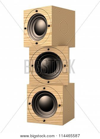 Mahogany Speakers