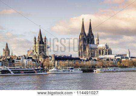 Cologne Panorama.