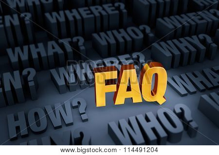 A Faq For Many Questions