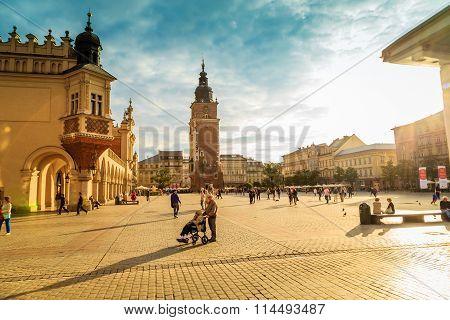 KRAKOW, POLAND - SEPTEMBER 15