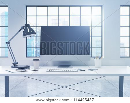 Workplace With A Computer