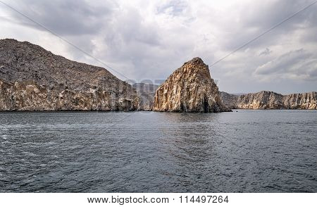 Musandam Peninsula in Oman