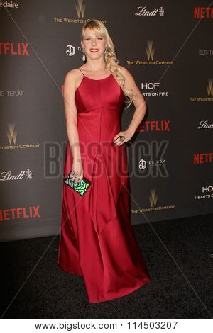 BEVERLY HILLS, CA - JAN. 10: Jodie Sweetin arrives at the Weinstein Company and Netflix 2016 Golden Globes After Party on Sunday, January 10, 2016 at the Beverly Hilton Hotel in Beverly Hills, CA.