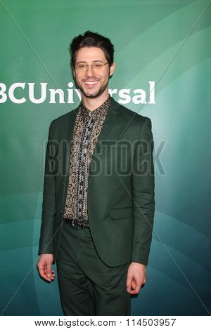 LOS ANGELES - JAN 14:  Hale Appleman at the NBCUniversal Cable TCA Press Day Winter 2016 at the Langham Huntington Hotel on January 14, 2016 in Pasadena, CA