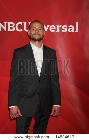 LOS ANGELES - JAN 14:  Brent Steffensen at the NBCUniversal Cable TCA Press Day Winter 2016 at the Langham Huntington Hotel on January 14, 2016 in Pasadena, CA