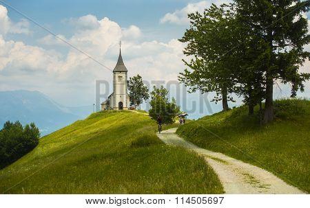 Jamnik church, Slovenia