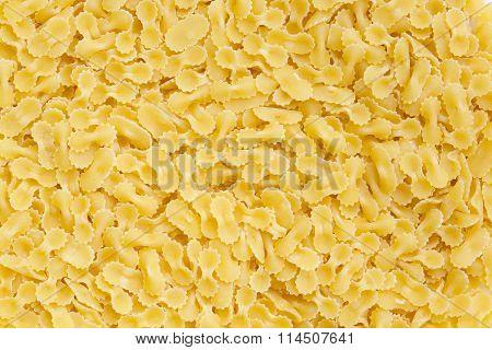 Organic wheat durum Italian pasta - background.