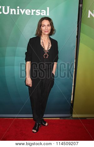 LOS ANGELES - JAN 14:  Joanne Whalley at the NBCUniversal Cable TCA Press Day Winter 2016 at the Langham Huntington Hotel on January 14, 2016 in Pasadena, CA