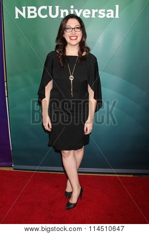 LOS ANGELES - JAN 14:  Randi Zuckerberg at the NBCUniversal Cable TCA Press Day Winter 2016 at the Langham Huntington Hotel on January 14, 2016 in Pasadena, CA