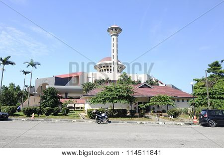 Masjid Universiti Putra Malaysia or Masjid UPM at Serdang, Selangor, Malaysia