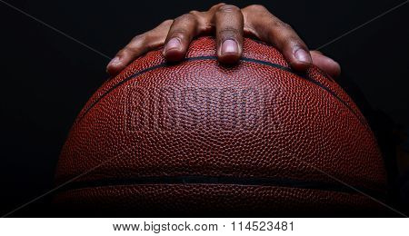 Basketball and Hand Dribbling