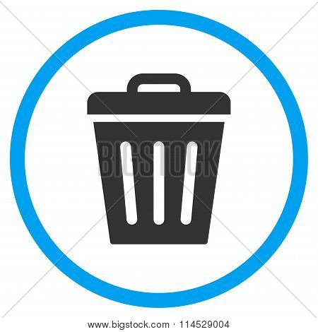Dustbin Flat Icon