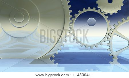 Giant Gear Background