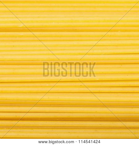 Durum Wheat Semolina Pasta Spaghetti Close Up