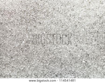 Crystals Of Fructose (fruit Sugar)
