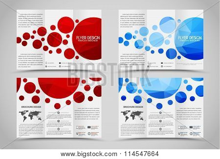 Design Folding Brochures With Polygonal Elements