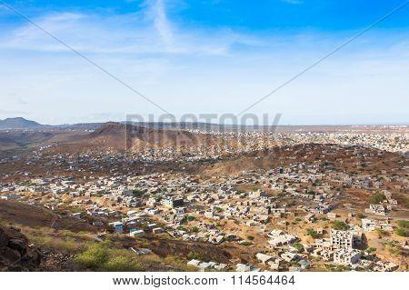 View Of Praia City In Santiago - Capital Of Cape Verde Islands - Cabo Verde