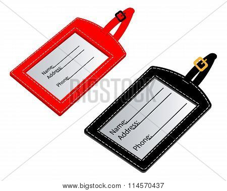 Are Two Different Name Badge