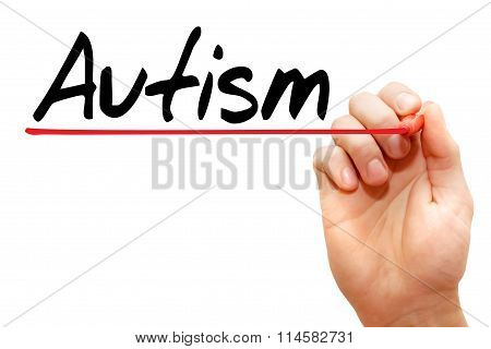 Hand Writing Autism, Concept