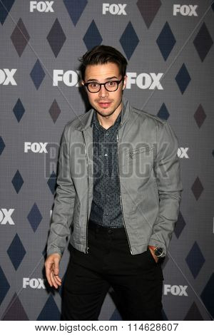 LOS ANGELES - JAN 15:  Kris Allen at the FOX Winter TCA 2016 All-Star Party at the Langham Huntington Hotel on January 15, 2016 in Pasadena, CA