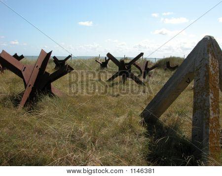 Normandy Beach Iron Impedients