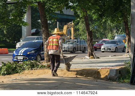Making The Sidewalk